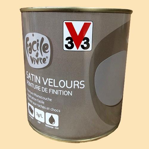 Peinture murale et boiserie v33 facile vivre coquille d 39 oeu - Peinture coquille d oeuf ...