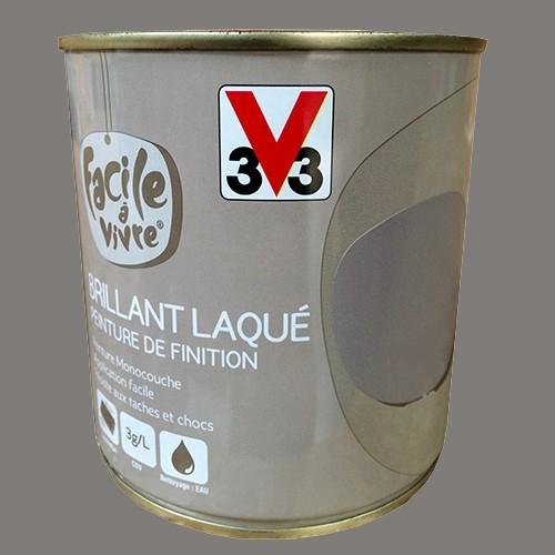 peinture murale et boiserie v33 facile vivre poivre et sel brillant laqu pas cher en ligne. Black Bedroom Furniture Sets. Home Design Ideas