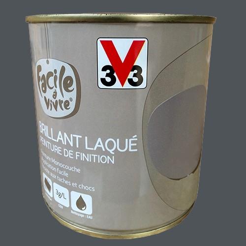 Peinture murale et boiserie v33 facile vivre fusain brillant la - Peinture murale pas cher en ligne ...