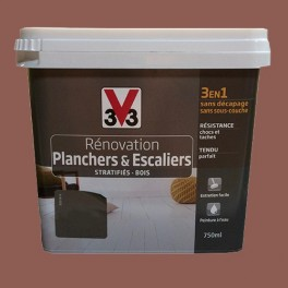 V33 r novation planchers escaliers terracotta pas cher for Peinture renovation carrelage v33