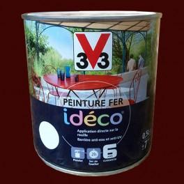 Peinture fer v33 id co rouille satin pas cher en ligne - Peinture effet rouille fer ...