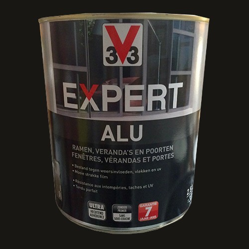 Peinture v33 expert alu noir pas cher en ligne for Peinture pas cher