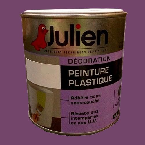 Peinture plastique julien prune satin pas cher en ligne - Peinture julien plastique ...
