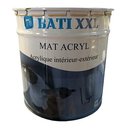 bati xxl mat acryl 15l blanc pas cher en ligne. Black Bedroom Furniture Sets. Home Design Ideas