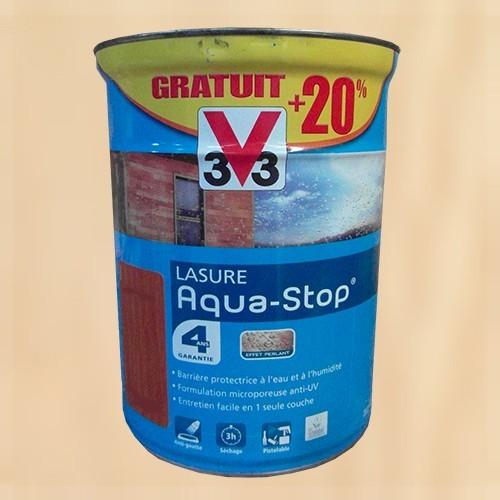 V33 lasure aquastop 4ans incolore pas cher en ligne - Peinture v33 aquastop ...