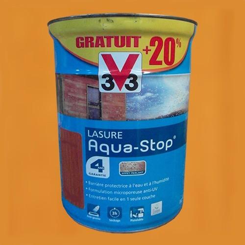 V33 lasure aquastop 4ans ch ne clair pas cher en ligne - Peinture v33 aquastop ...