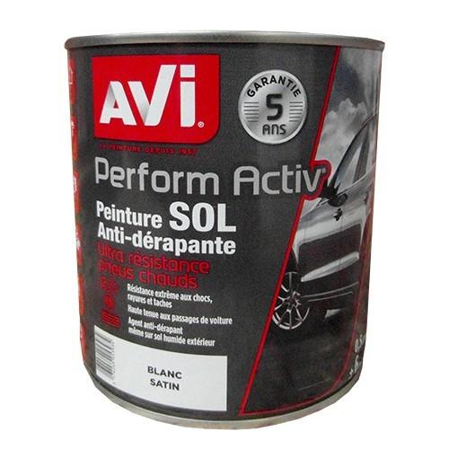 Avi peinture perform activ sol blanc satin pas cher en ligne - Materiel de peinture artistique pas cher ...
