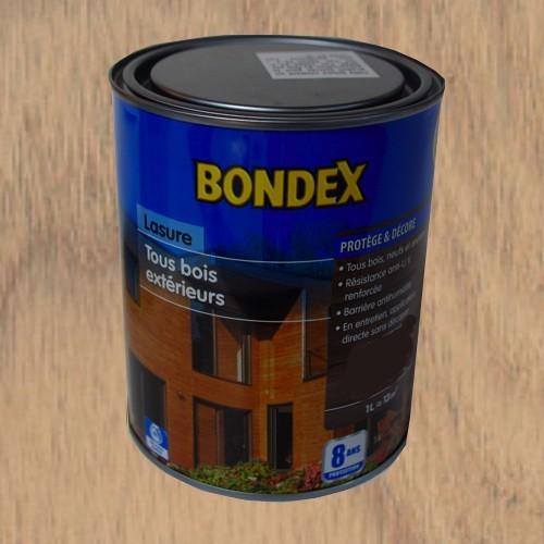 lasure bondex tous bois ext rieur 8 ans ch ne fum 1l. Black Bedroom Furniture Sets. Home Design Ideas