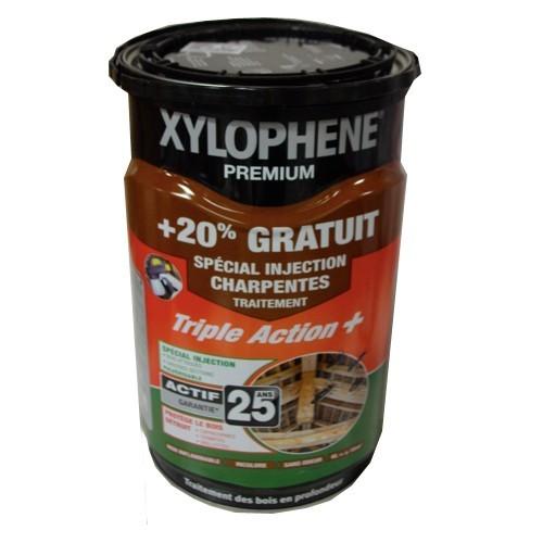 Traitement xylophene premium sp cial injection charpentes for Traitement des charpentes par injection
