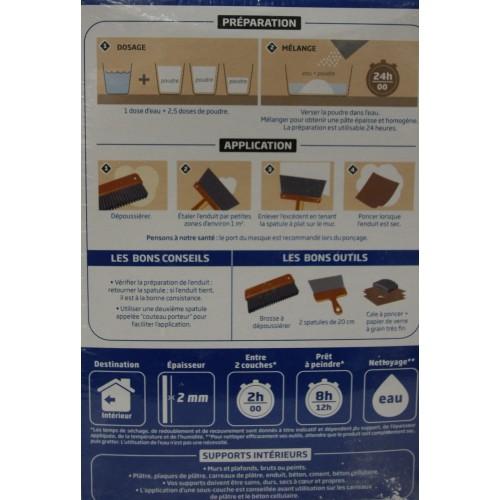 toupret enduit lisser pas cher en ligne. Black Bedroom Furniture Sets. Home Design Ideas