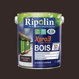 Ripolin xpro3 bois brun normand pas cher en ligne - Peinture bois exterieur pas cher ...
