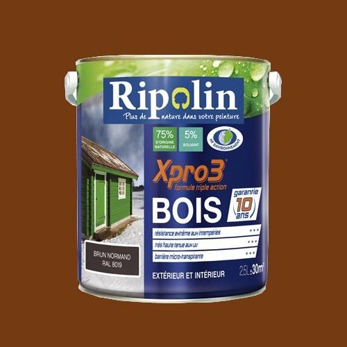 Ripolin xpro3 bois ch taignier pas cher en ligne for Peinture bois interieur pas cher