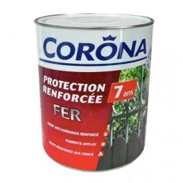 corona peinture fer protection renforc 233 e 7 ans blanc brillant 2 5l pas cher en ligne