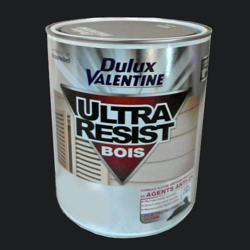 Dulux valentine ultra r sist bois noir satin 2 5l pas cher en ligne for Peinture bois noir
