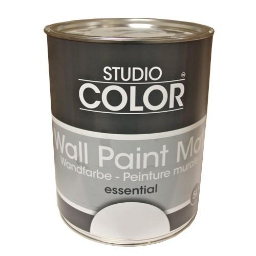 Peinture studio color wall paint mat essentiel blanc pas cher en ligne - Prix peinture zolpan blanc ...