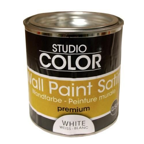 Peinture studio color wall paint satin premium blanc pas cher en ligne - Prix peinture zolpan blanc ...
