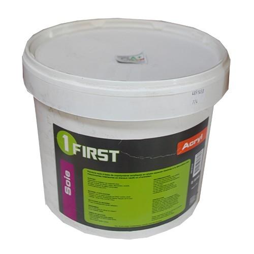 Peinture first acrylique soie blanc 5l pas cher en ligne for Peinture pas cher