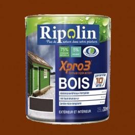 Ripolin xpro3 bois teck pas cher en ligne - Peinture pour bois exterieur pas cher ...