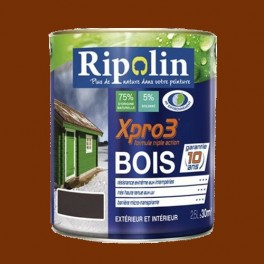 Ripolin xpro3 bois teck pas cher en ligne for Peintures ripolin