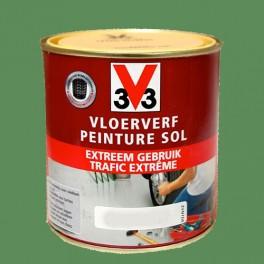 Peinture v33 sp cial sol trafic extr me mousse pas cher en - Peinture sol v33 ...