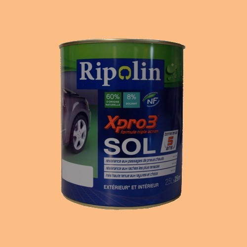 Achat peinture ripolin xpro3 sol sable satin for Peinture de sol v