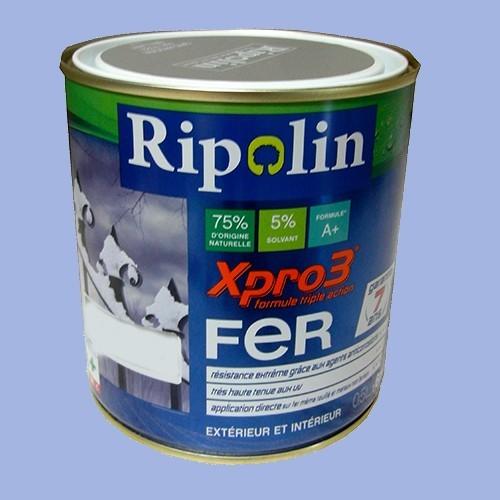 Ripolin xpro3 fer bleu lavande pas cher en ligne for Peinture couleur lavande