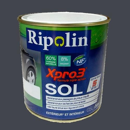Achat Peinture RIPOLIN Xpro3 Sol Gris Béton Satin 2,5L