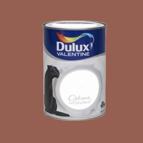Dulux valentine peinture cr me de couleur chocolat pas for Peinture couleur chocolat