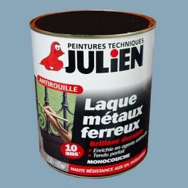 peinture julien antirouille laque m taux ferreux bleu zinc