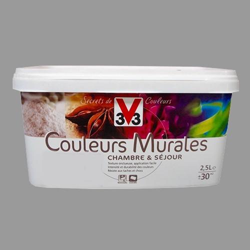 Peinture v33 couleurs murales satin granit pas cher en ligne - Peinture murale pas cher en ligne ...