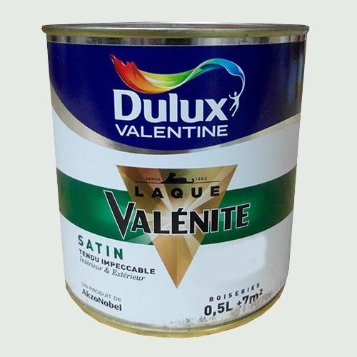 Dulux valentine laque val nite satin gris perle pas cher for Peinture dulux valentine gris