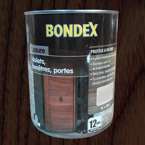 Lasure bondex volets fen tres portes eb ne 12 ans pas for Peindre sur lasure