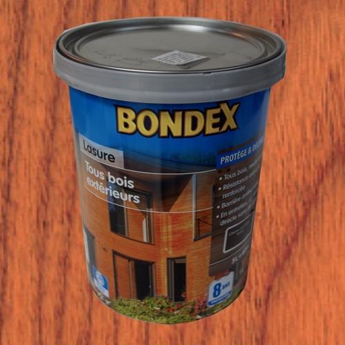 Lasure bondex tous bois ext rieur 8 ans teck pas cher en ligne - Peinture pour teck ...