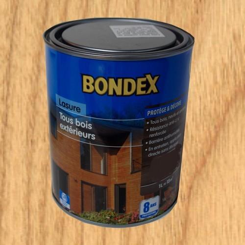 Lasure bondex tous bois ext rieur 8 ans ch ne clair pas - Peinture pour bois exterieur pas cher ...