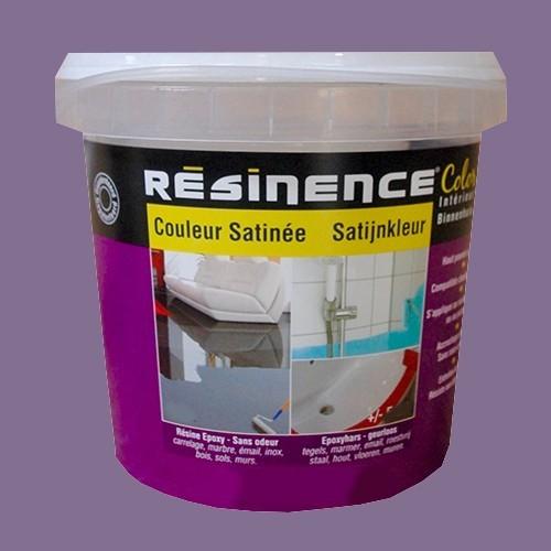 R sinence couleur satin e violette pas cher en ligne for Peinture satinee couleur