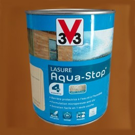 V33 lasure aquastop 4ans ch ne dor pas cher en ligne - Peinture aquastop v33 ...