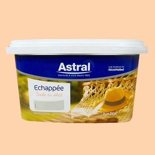 Peinture astral echapp e sieste au soleil lait d 39 abricot for Peintures astral