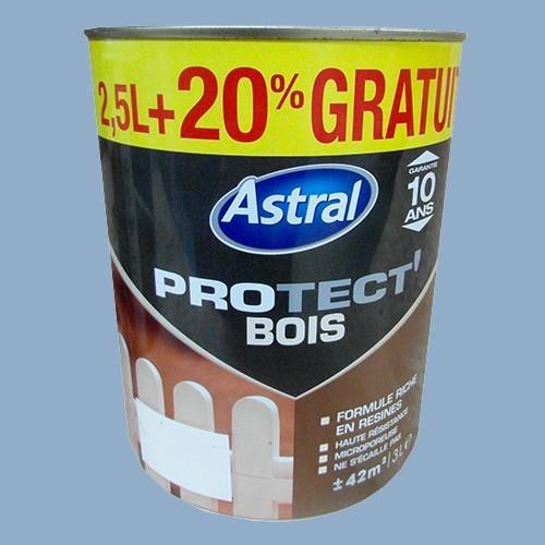 Peinture astral protect 39 bois ciel d 39 t pas cher en ligne for Peintures astral
