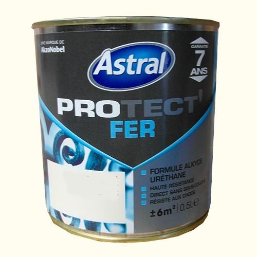 Peinture astral protect 39 fer au fond du bois brillant pas cher en ligne for Peinture pas cher