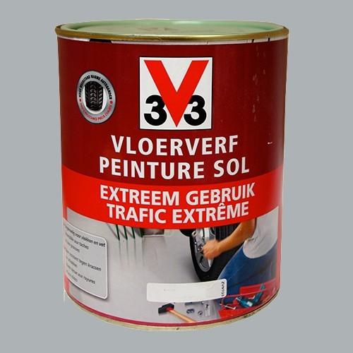 Peinture v33 sp cial sol trafic extr me gris clair pas cher en ligne - Peinture grise pas cher ...