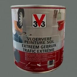 Peinture v33 sp cial sol trafic extr me carbone pas cher for Peinture sol prix