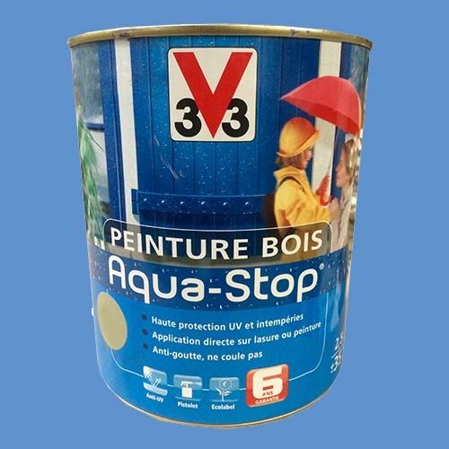 Peinture v33 bois aqua stop satin 2 5l pas cher en ligne for Peinture couleur lavande