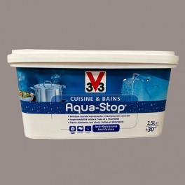 Peinture v33 cuisine et bains aqua stop c pe 2 5l satin pas cher en ligne - Peinture cuisine pas cher ...