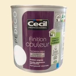 CECIL PE DECO Peinture Finition Couleur Satin Vanille