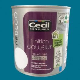 CECIL PE DECO Peinture Finition Couleur Satin Bleu canard