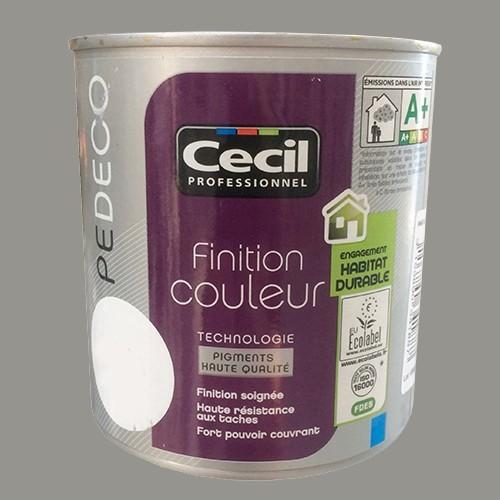 Cecil pe deco peinture finition couleur satin etain pas for Bibelot deco pas cher