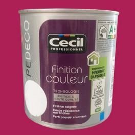 CECIL PE DECO Peinture Finition Couleur Satin Framboise