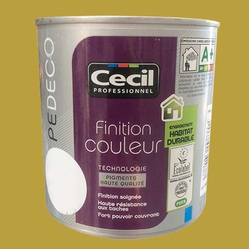 CECIL PE DECO Peinture Finition Couleur Satin Grenouille