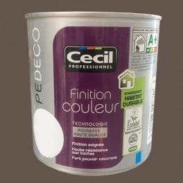 CECIL PE DECO Peinture Finition Couleur Satin Café