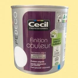 CECIL PE DECO Peinture Finition Couleur Satin Citronnade